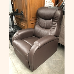 Absolutely flawless leather lazy armchair