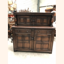 Magical antique cabinet from European Oak