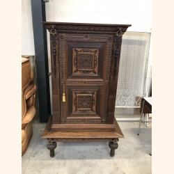 Mysterious French antique side board 1890