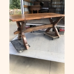 17th century oak dining table stunning quality