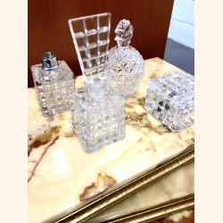 Beautiful set of crystal decoration items