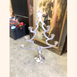 Silver candle holder XL