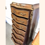 Petite Antique French Dresser With Marble Top