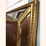 Absolutely Stunning Mirror with Golden Frame 1970