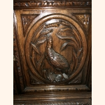 Antique Hunters Cabinet extremely detailed and mint condition 1890