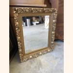 Flawless mirror with golden elements 1950