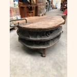 """One of a kind antique """"Bellows"""" centre table"""