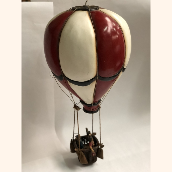 "Antique toy ""air balloon"" original colors 1920"