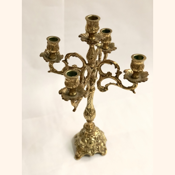 Stunning vintage candle holder 100% copper
