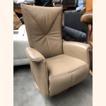 Super comfortable full leather relax armchair
