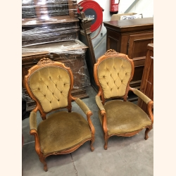 Antique set of Louis XV chairs