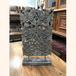 Antique wooden carving