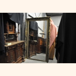 French Antique Plaster Mirror 1900 Large