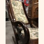 Antique wooden rocking chair flawless condition
