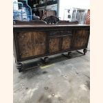 Absolutely stunning antique cupboard oak and walnut