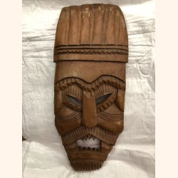 Ancient wooden mask 60cm