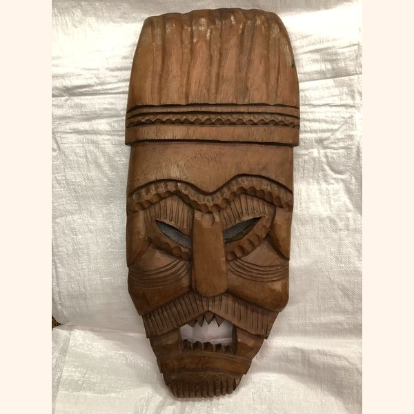Ancient wooden mask