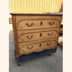 Beautiful antique French dresser in full wood