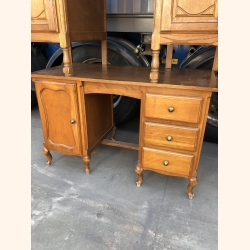 Stunning desk pure wood 1940