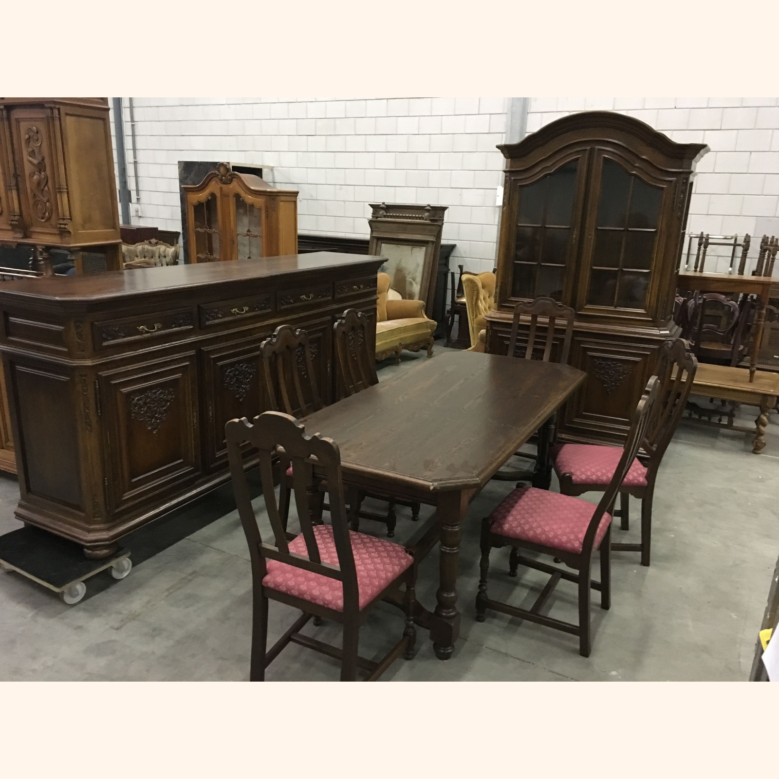 A Solid Wood Dining Room Furniture Sets Mix 1m3 A