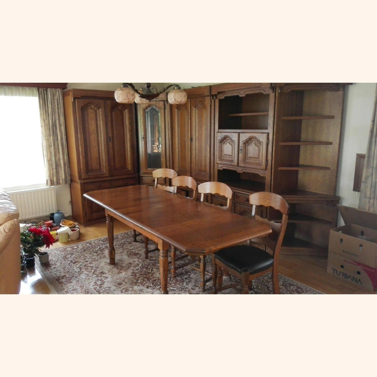 A Dining Room Furniture Sets Mix, Used Wood Dining Room Set
